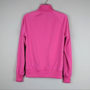 Nike Jackets & Coats - Nike | Pink Front Zip Jacket Embroidered Logo M
